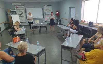 Focus groups at the Red Cross of Sombor